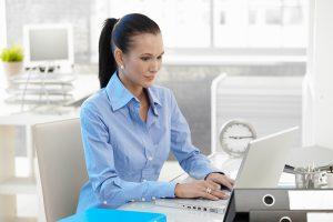 customer helpdesk working -computer repair or MSP
